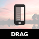 Drag | Sidebar Menu for Mobiles & Tablets