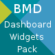 Bootstrap + Material Design - Dashboard Widgets Pack