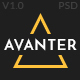 Avanter - Funiture Store PSD Template