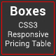 Boxes - CSS3 Responsive Pricing Table