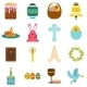 Easter Flat Icons