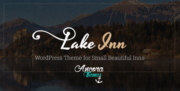 LakeInn – WordPress Theme for Small Inn, Hotel & Resort (Travel) images