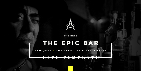 BarDojo - Epic Bar & Restaurant Website Template