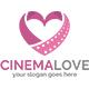 Cinema Love Logo Template