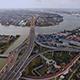 Aerial View of Bangkok and the Chao Phraya River 09