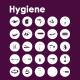25 Hygiene icons