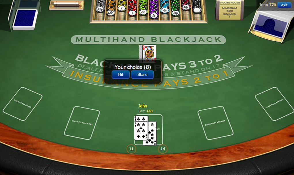 Free online strip blackjack no download