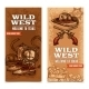 Cowboy Wild West Vertical Banners