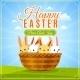 Easter Poster Illustration