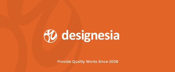 Designesia banner