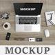 Macbook Scene Mockup