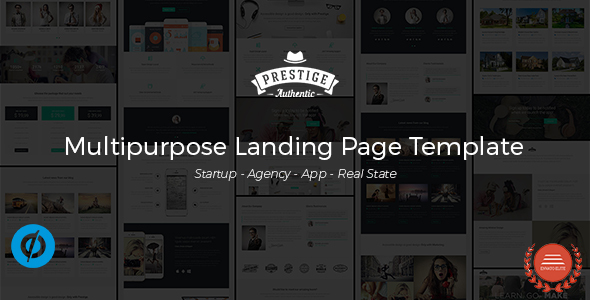 Download Prestige - Multipurpose Landing Pages Template nulled download