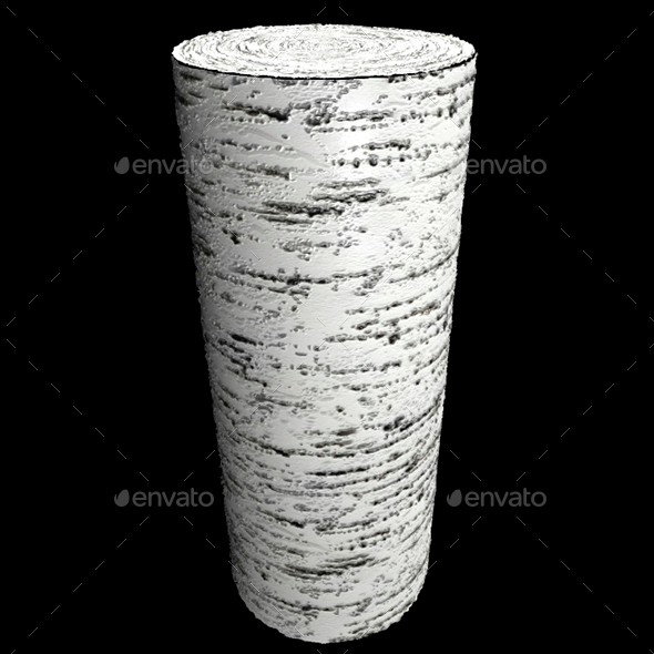 Bark Birch - 3DOcean Item for Sale