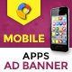 GWD   Mobile App HTML5 Ad Banner - 07 Sizes
