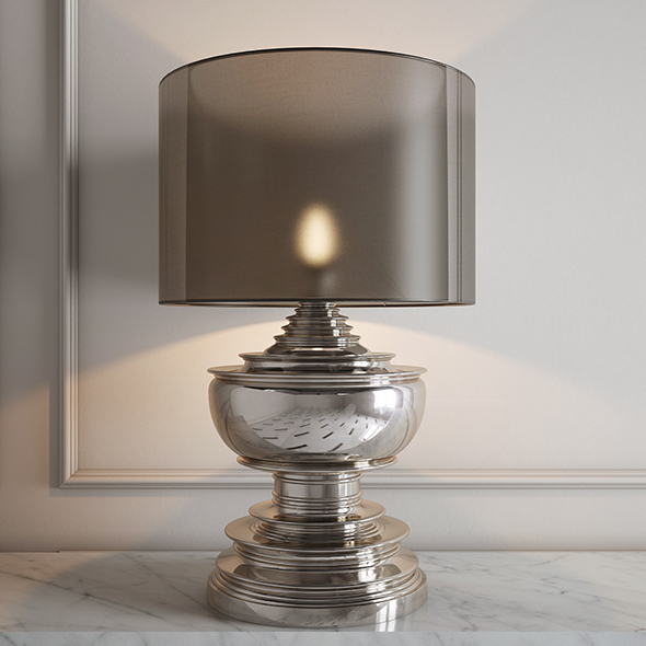 Eichholtz Table Lamp Pagoda - 3DOcean Item for Sale