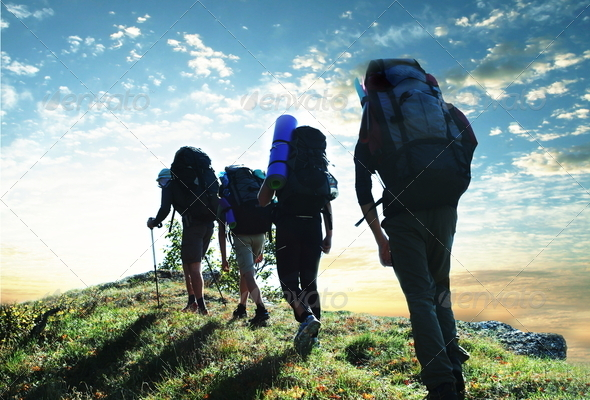 Hiking - Stock Photo - Images