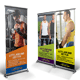 Fitness Roll-up Banner