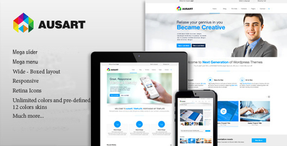 Ausart - Multipurpose Drupal Theme