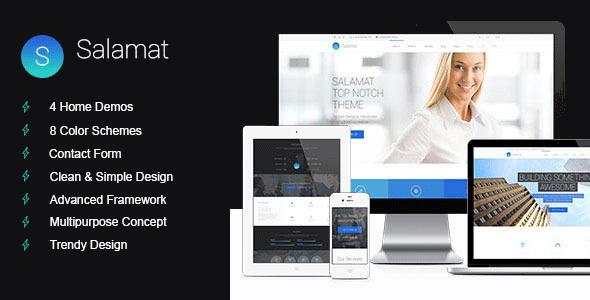 Image of Salamat - Multipurpose Drupal Theme