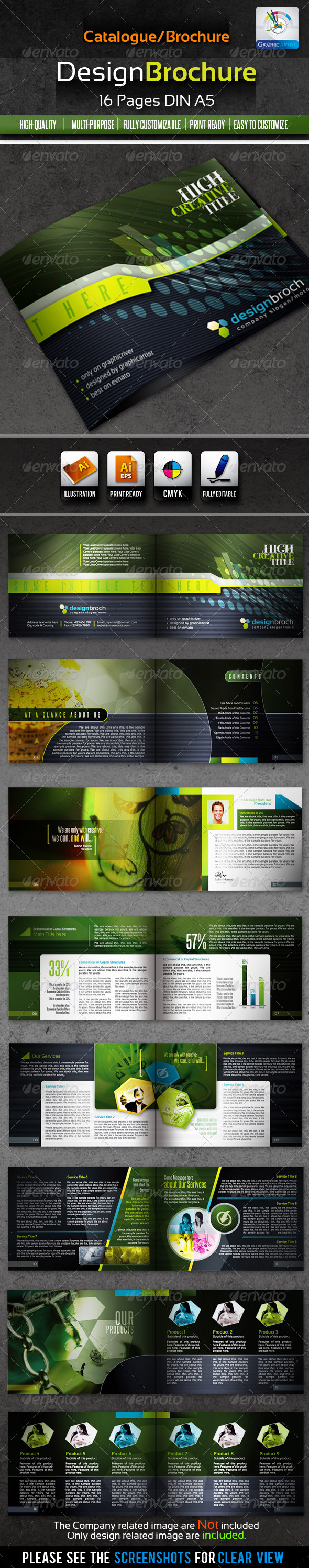 GraphicRiver DesignBrochure 16pages Corporate Catalog Brochure 1540484