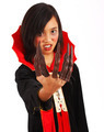 Dracula Girl With Long Fingers - PhotoDune Item for Sale