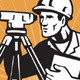 Surveyor Engineer Theodolite Total Station - GraphicRiver Item for Sale