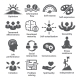 Business Management Icons. Pack 06.