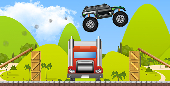 Download Monster Truck with AdMob and Leaderboard nulled download