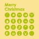 20 Merry Christmas icons