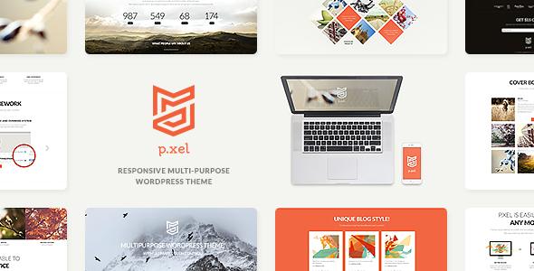 Pixel | Multipurpose WordPress Theme