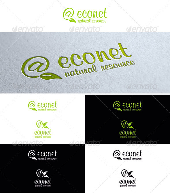 Econet - Symbols Logo Templates