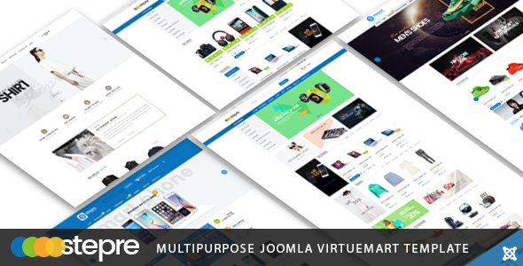 Image of Vina Stepre - Multipurpose Joomla Virtuemart Template