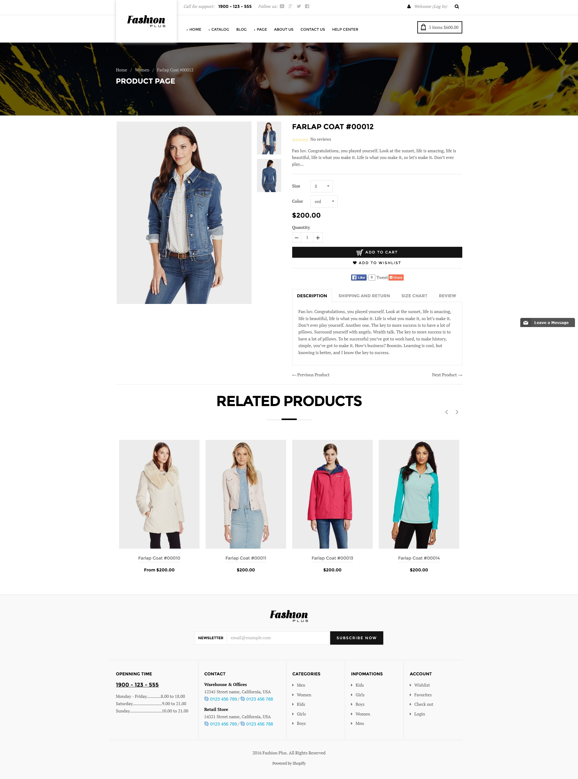 fashion room shopify themes