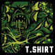 Green Monster T-Shirt Desig-Graphicriver中文最全的素材分享平台