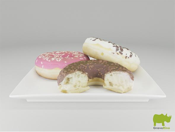 3DOcean Donut 3D Model 15475012