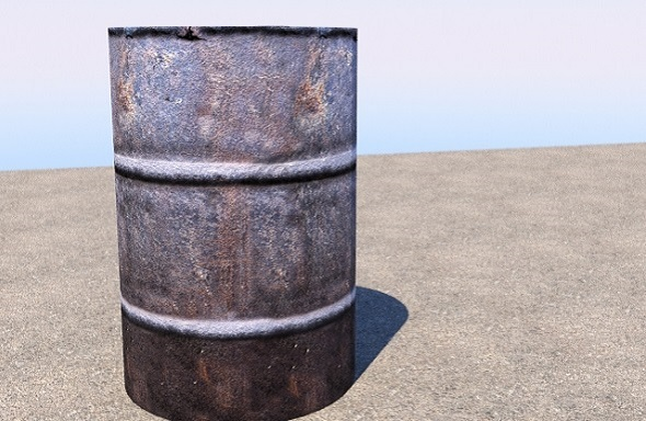 Barrel rust - 3DOcean Item for Sale