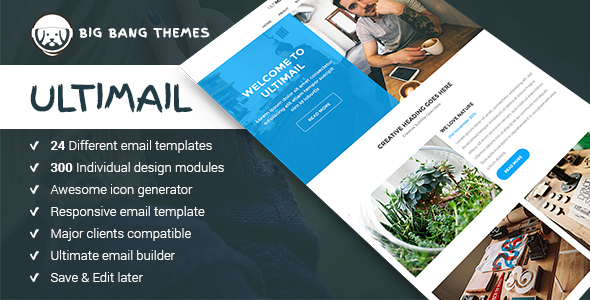 Download UltiMail - Multipurpose Email + Builder Access nulled download