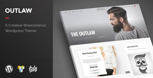 Outlaw - Stylish WooCommerce WordPress Theme