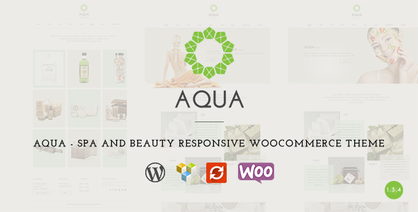 7 - Aqua - Spa and Beauty Responsive WooCommerce WordPress Theme