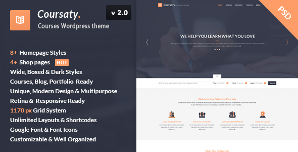 Download Coursaty - Courses | Education WordPress Theme nulled download
