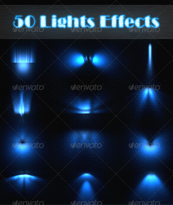 GraphicRiver 50 Lights Effects 1528412