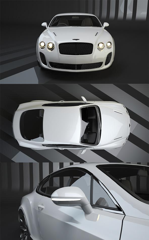 Bentley Continental GT - 3DOcean Item for Sale