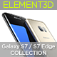 Download Element3D - Samsung Galaxy S7 Collection from 3DOcean