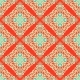 Abstract Seamless Vintage Oriental Tiled Design