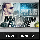 Large Banner Stands Mock-up - GraphicRiver Item for Sale