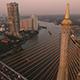 Aerial View of Bangkok and the Chao Phraya River 13