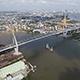 Aerial View of Bangkok and the Chao Phraya River 04