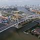 Aerial View of Bangkok and the Chao Phraya River 05