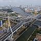 Aerial View of Bangkok and the Chao Phraya River 06