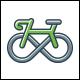 Infinity Bike Logo Template